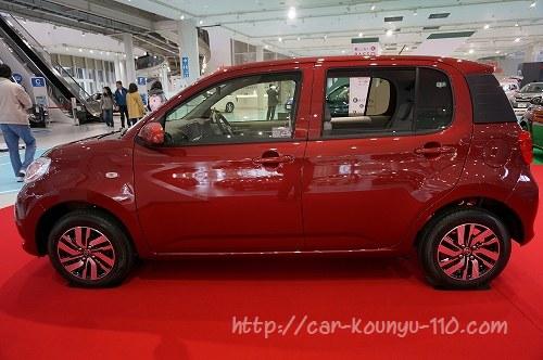 トヨタ新型パッソ画像0536