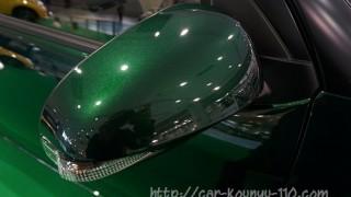 新型パッソのサイドミラー画像レビュー。モーダと標準車で違いはある?