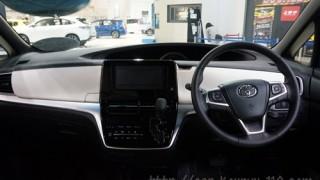 トヨタ新型エスティマの内装 先代モデルとの違いは何?
